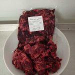 Hovězí ořez hrubo mletý 1 kg, 52 Kč
